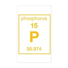 Phosphorus Rectangle Decal