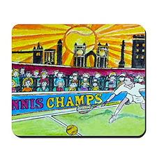 Tennis Champ Mousepad