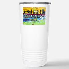Tennis Champ Stainless Steel Travel Mug
