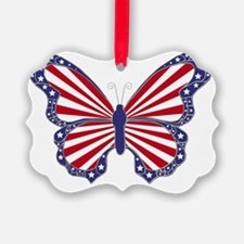 Patriotic Butterfly Ornament