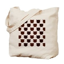 shower cats brown Tote Bag