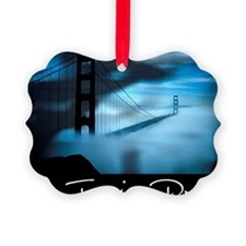 San Francisco Dreams Placemats Ornament