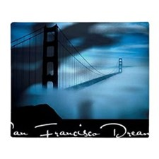 San Francisco Dreams Placemats Throw Blanket
