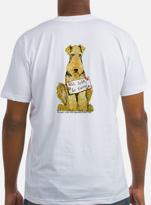Airedale Terrier Bark for Food Shirt