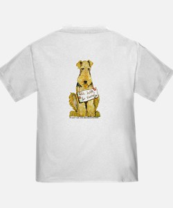 Airedale Terrier Bark for Food T