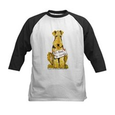 Airedale Terrier Bark for Food Tee