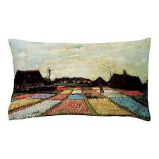 Bulb Fields by Van Gogh Pillow Case