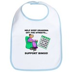Support Bingo Bib