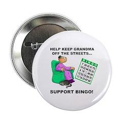 Support Bingo Button
