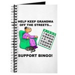 Support Bingo Journal