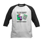 Support Bingo Kids Baseball Jersey