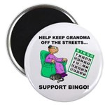 Support Bingo Magnet