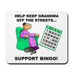 Support Bingo Mousepad