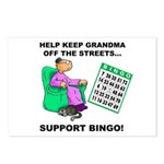Support Bingo Postcards (Package of 8)