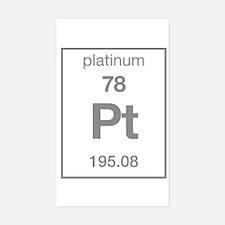 Platinum Rectangle Decal