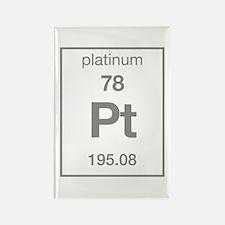 Platinum Rectangle Magnet