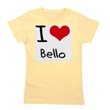 I Love Bello Girl's Tee