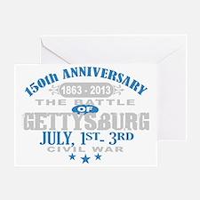 150 Gettysburg Civil War Greeting Card