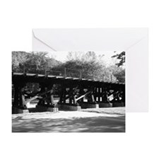 Bridge at Harpers Ferry Greeting Card