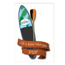 LIFE IS BETTER WHEN YOU S Postcards (Package of 8)
