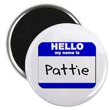 hello my name is pattie Magnet