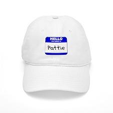 hello my name is pattie Baseball Cap
