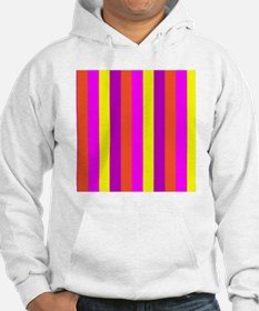Z Striped Candy Colorful Mirage  Hoodie