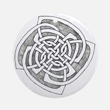 Circular Patch Round Ornament