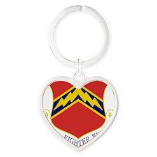 56th FW Heart Keychain