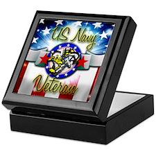 US Navy Veteran Keepsake Box