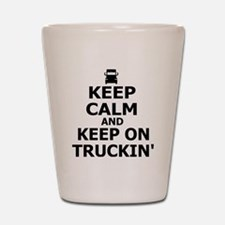 Keep on Truckin' Shot Glass
