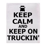 Truck Fleece Blankets
