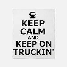 Keep on Truckin' Throw Blanket