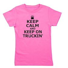 Keep on Truckin' Girl's Tee