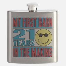 BOARDY BARN BIRTHDAY Flask