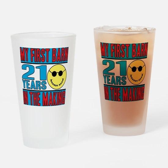 BOARDY BARN BIRTHDAY Drinking Glass