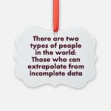 Extrapolate This... Ornament