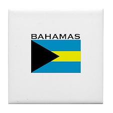 Bahamas Tile Coaster