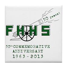 FHHS 50th Reunion Blast Tile Coaster