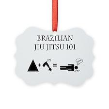 Brazilian Jiu Jitsu Theory Ornament