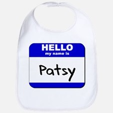 hello my name is patsy  Bib