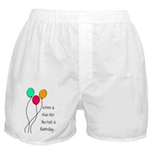 When a nun Birthday Boxer Shorts
