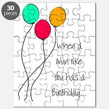 When a nun Birthday Puzzle