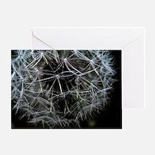 Dark Dandelion Greeting Card