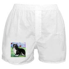 Sheltie Shetland Sheepdog Boxer Shorts