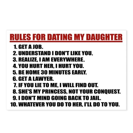 8 rules dating my daughter Sorø