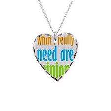 I Need Minions Necklace