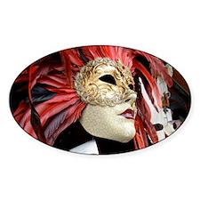 Venetian Mask Decal