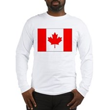 Unique Canuck Long Sleeve T-Shirt