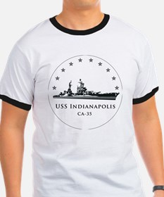 USS Indianapolis Image Round T